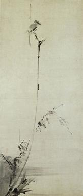 宮本武蔵 《枯木鳴鵙図》