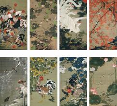 伊藤若冲筆 三の丸尚蔵館蔵 出典:宮内庁ホームページ